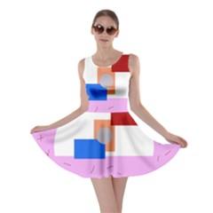 Decorative abstract circle Skater Dress