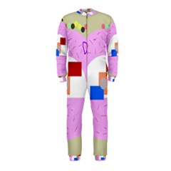Decorative abstract circle OnePiece Jumpsuit (Kids)