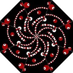 Red pearls Straight Umbrellas