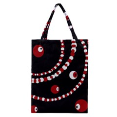 Red pearls Classic Tote Bag