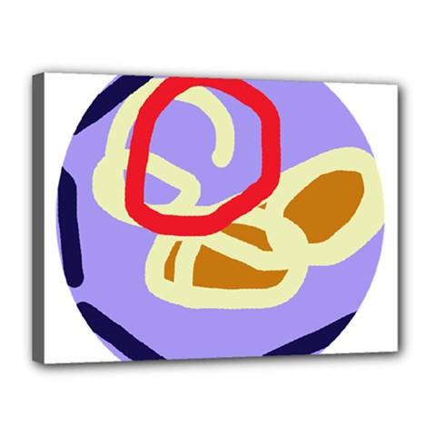 Abstract circle Canvas 16  x 12