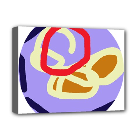Abstract circle Deluxe Canvas 16  x 12
