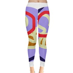 Abstract circle Leggings