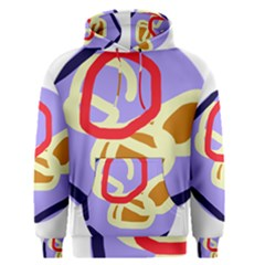 Abstract circle Men s Pullover Hoodie