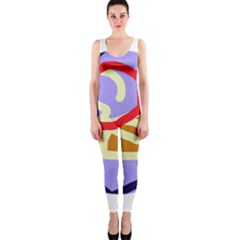 Abstract circle OnePiece Catsuit