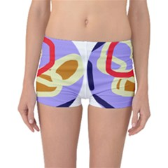 Abstract circle Boyleg Bikini Bottoms