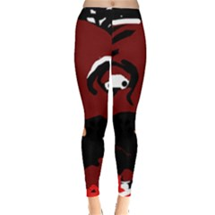 Abstract face  Leggings