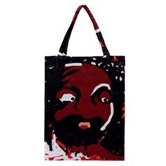 Abstract face  Classic Tote Bag