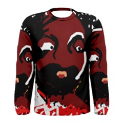 Abstract face  Men s Long Sleeve Tee