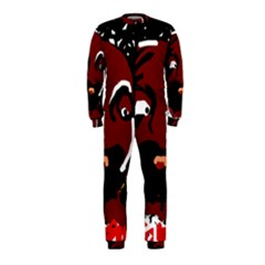Abstract face  OnePiece Jumpsuit (Kids)