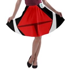 Duck A-line Skater Skirt