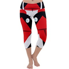 Duck Capri Yoga Leggings