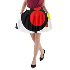 Fat chicken A-Line Pocket Skirt