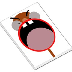 Funny face Large Memo Pads