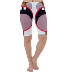 Funny face Cropped Leggings