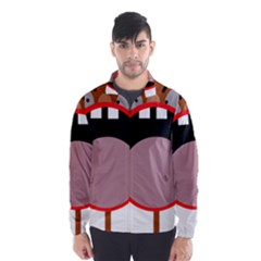 Funny face Wind Breaker (Men)