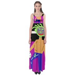 Goalkeeper Empire Waist Maxi Dress