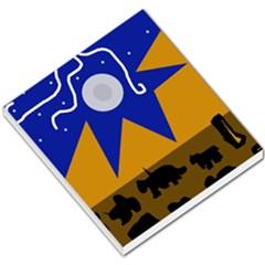 Decorative abstraction Small Memo Pads