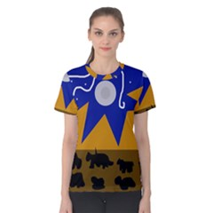Decorative abstraction Women s Cotton Tee