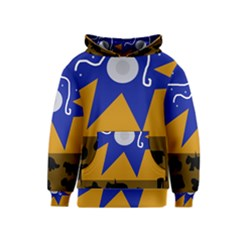 Decorative abstraction Kids  Pullover Hoodie