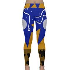 Decorative abstraction Yoga Leggings