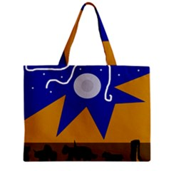 Decorative abstraction Zipper Mini Tote Bag