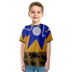 Decorative abstraction Kid s Sport Mesh Tee