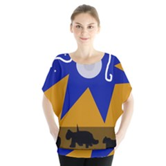 Decorative abstraction Blouse