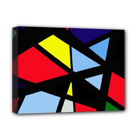 Colorful geomeric desing Deluxe Canvas 16  x 12