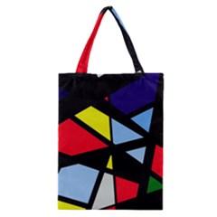 Colorful geomeric desing Classic Tote Bag