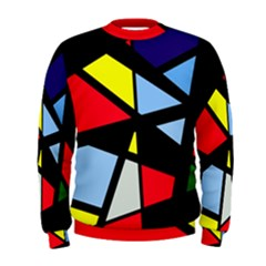 Colorful geomeric desing Men s Sweatshirt