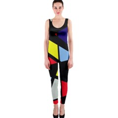 Colorful geomeric desing OnePiece Catsuit