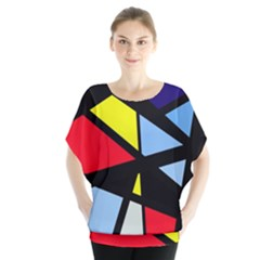 Colorful geomeric desing Blouse