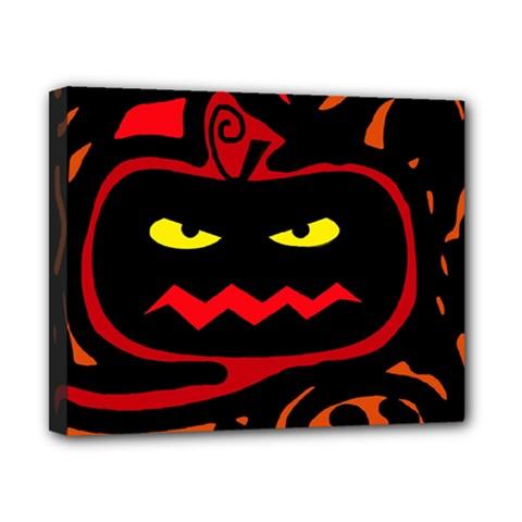 Halloween pumpkin Canvas 10  x 8