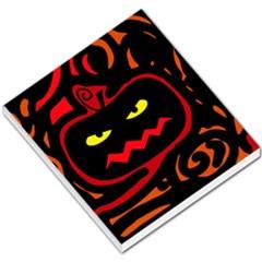 Halloween pumpkin Small Memo Pads