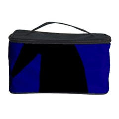 Halloween raven - deep blue Cosmetic Storage Case
