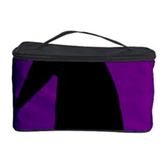 Halloween raven - purple Cosmetic Storage Case