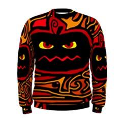 Halloween decorative pumpkin Men s Sweatshirt