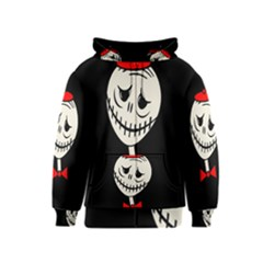 Halloween monster Kids  Zipper Hoodie