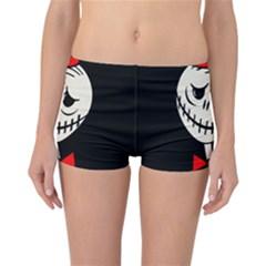 Halloween monster Reversible Boyleg Bikini Bottoms
