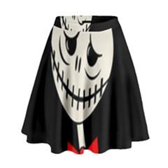 Halloween monster High Waist Skirt