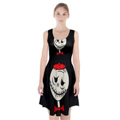 Halloween Monster Racerback Midi Dress