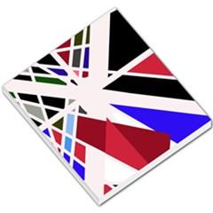 Decorative flag design Small Memo Pads