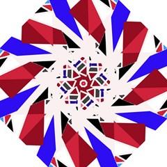 Decorative flag design Hook Handle Umbrellas (Large)