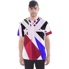 Decorative flag design Men s Sport Mesh Tee