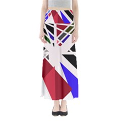 Decorative Flag Design Maxi Skirts