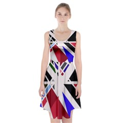 Decorative flag design Racerback Midi Dress