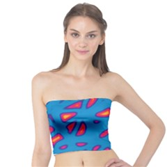Blue and red neon Tube Top
