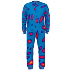 Blue and red neon OnePiece Jumpsuit (Men)