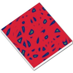 Red neon Small Memo Pads